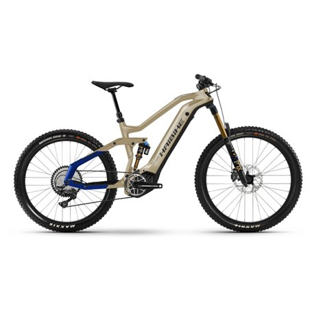 Haibike AllMtn 7 i600Wh 2021 E-Bike Pedelec coffee black blue frame size 47cm