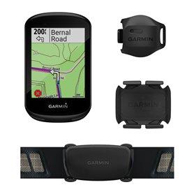 Garmin Edge 830 GPS Fahrradcomputer Bundle inkl. Premium HF-Brustgurt
