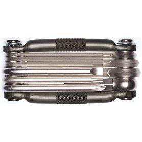 Crankbrothers Multi-10 Multitool nickel plating