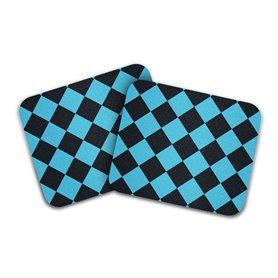 MOTO Grip Checker Griptape schwarz blau