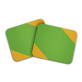 MOTO Grip Stripes Griptape grün gelb
