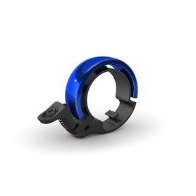 Knog Oi Classic Small Fahrradklingel 22.2mm schwarz blau