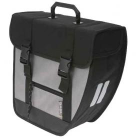 BASIL Side Bag TOUR SINGLE Left black/silver