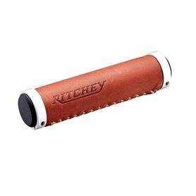 Ritchey Classic Lock-On Griff 128/33.0mm Kunstleder braun