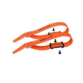 Fixplus Sachen Festmacher 2 Stück inkl. 2x orange46 Strap schwarz orange