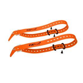 Fixplus Sachen Festmacher 2 Stück inkl. 2x orange66 Strap schwarz orange