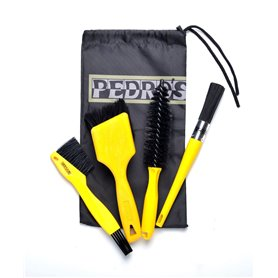 Pedro´s Pro Brush Kit Reinigungsbürstenset