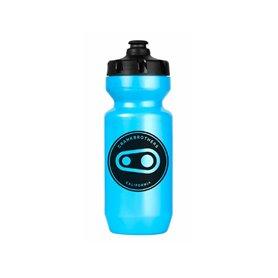 Crankbrothers Icon Wasserflasche blau schwarz