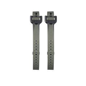 Salsa EXP Series Rubber Straps Gummizurrbänder 55cm 2 Stück grau