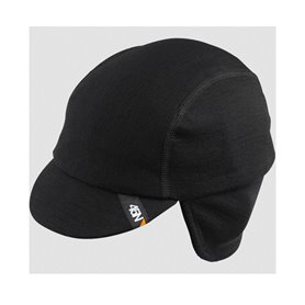45NRTH Greazy Helmmütze Merino schwarz Größe S/M