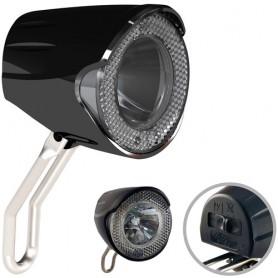 Marwi Scheinwerfer Union LED mit K~ Nabendynamo, Standlicht+Sensor