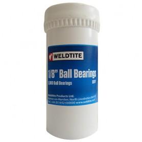 "Fasi Ball Bearings 1/8"" 3.18 mm Carbon Steel,1000 pcs. Bottle"