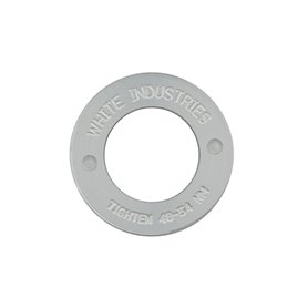 White Industries MR30 Extractor Caps silber