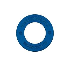 White Industries 4-Kant Extractor Caps blau