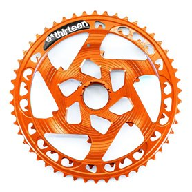 e*thirteen Helix Race 12-fach Aluminiumritzel 42-50 Z. orange