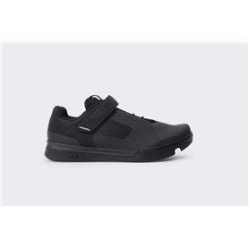 Crankbrothers Mallet Schuhe Speedlace schwarz weiß Größe 44.5