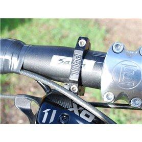 Paul Component SRAM Shifter Mount 31.8mm silber