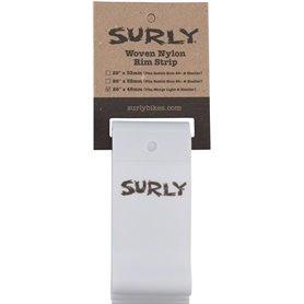 Surly Nylon Felgenband 45mm Marge Lite/Rolling Darryl weiß
