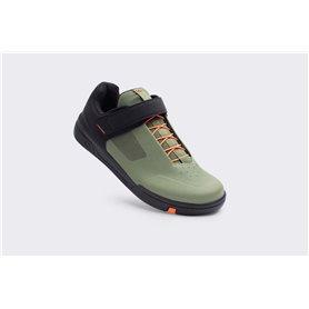 Crankbrothers Stamp Schuhe Speedlace grün orange schwarz Größe 41.5