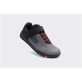 Crankbrothers Stamp Schuhe Speedlace grau rot schwarz Größe 44.5