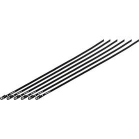 Surly Junk Strap Zurrband 120cm Edelstahlschnalle 6 Stück schwarz
