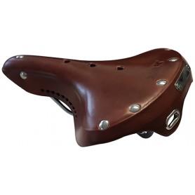 Cycleparts saddle YAK GS-21 men's version 270 x 210mm brown