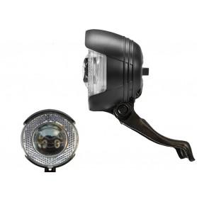 B+M Dynamo-Scheinwerfer Lyt-B N mit K~812 LED 20 Lux schwarz