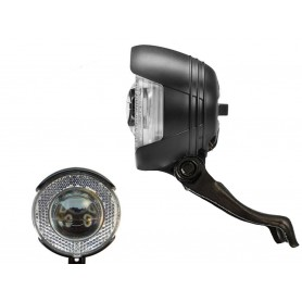 B + M dynamo headlight Lyt-B N with K ~ 812 LED 20 Lux black