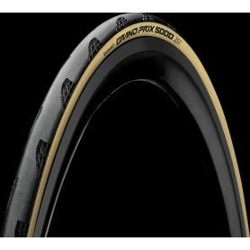 Continental Grand Prix 5000 700x25c falt reifen TDF LTD Limited Edition schwarz/creme