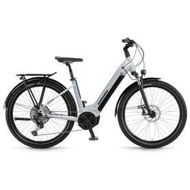 Winora Yucatan 12 Wave i630Wh 27.5 inch 2021 E-Bike winter white frame size 50cm