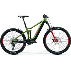 Merida eONE-FORTY 500 E-Bike Pedelec 2021 green black frame size M (41.5 cm)