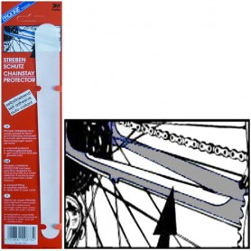 Proline Chainstay Protector Sticker transparent