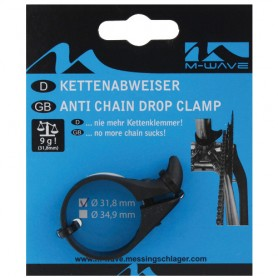 Bike Chain deflector for 31.8 mm seat tubes
