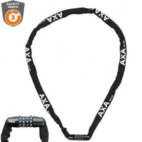 BASTA Chain Lock Rigid Code 120 cm, black