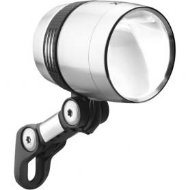 Busch + Müller Lumotec IQ-X LED, 100 Lux, silber