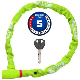 ABUS Chain uGrip 585 100cm long, Ø 5mm lime