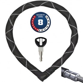 ABUS Steel-O-Flex Iven 8200 110cm long, Ø 25mm