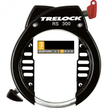 Trelock Fahrrad Fahrradschloss Rahmenschloss Schloss RS453 13-22,5mm schwarz