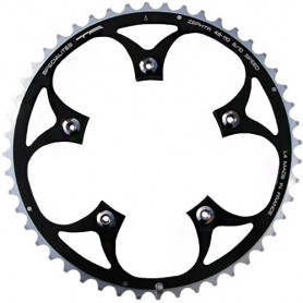 T.A. Chainring Zephyr 44 black 110 outer 9/10 speed