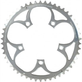 T.A. Chainring Zephyr 53 silver 110 outer 9/10 speed