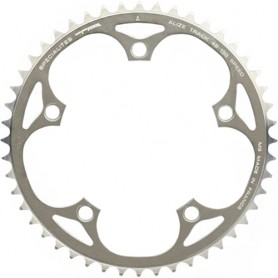 T.A. Chainring Alizé 48 silver 130 outer 9/10 speed