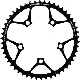 T.A. Chainring Syrius 52 black 110mm outer 10/11 spd.