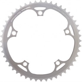 T.A. Chainring Vento 42 silver 135 inner 9/10 speed