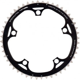 T.A. Chainring Vento 48 black 135 outer 9/10 speed
