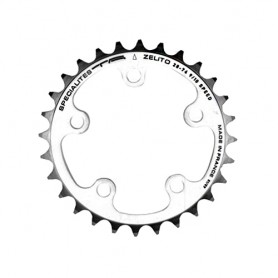 T.A. Chainring Zelito 32 silver 74 inner chainring for 3-comp