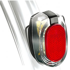 Busch + Müller Taillight SECULA permanent battery operated, Fender
