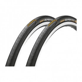 2x Continental Fahrrad Reifen Super Sport PLUS - 28-630 - 27 x 1 1/8 Draht schwarz