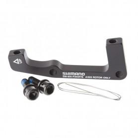 SHIMANO Brems Adapter VR - von PM-Bremssattel auf IS-Gabel - für 203mm Scheibe