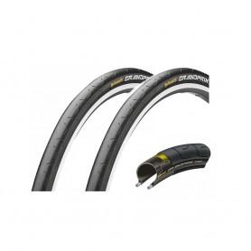 2 x Continental bicycle tyre GrandPrix / 28-559 / 26 x 1.10 / foldable, black / black skin