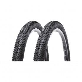 2x Kenda Fahrrad Reifen 52-559 K-1153 Draht, schwarz 26 x 2,0